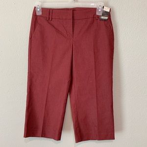 NY&Co Summer Stretch Columbus Ave Crop Pants
